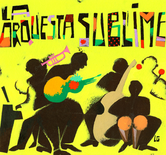 La orquesta sublime (cover cd)